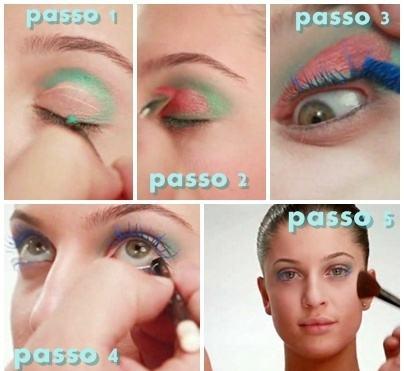 maquiagem-colorida-passo-a-passo