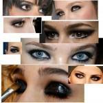 Maquiagem com olho preto Passo a Passo