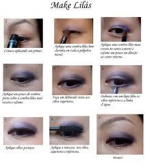 maquiagem lilas Maquiagens lilás passo a passo