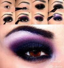 maquiagem roxa Maquiagem roxa passo a passo